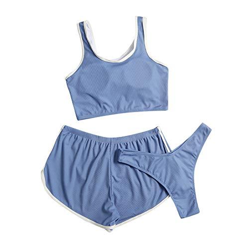 GaTIK Zweiteilige Bikini Set Push Up für Frauen Mädchen Badeanzug Beachwear Badebekleidung