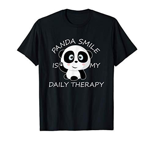 Panda Gigante Cub Sonríe Oso Panda Bebé Panda Disfraz Camiseta