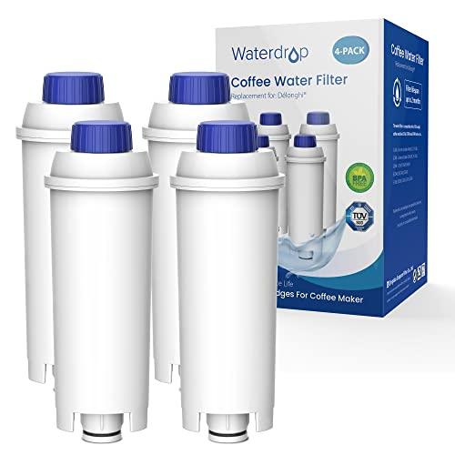 Waterdrop DLSC002 TÜV SÜD Certyfikowany Filtr do Kawy, Kompatybilny z DeLonghi DLSC002, DLS C002, 9310926, SER3017, 5513292811 i Ekspres do Kawy Espresso ECAM ETAM EC800 EC680 BCO (4)