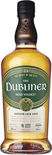 The Dubliner Irish Whiskey 40% vol., im Kentucky Bourbon Fass gereift, Aromen von Pfeffer und Honig (1 x0.7 l)