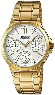 كاسيو ساعة للنساء - ستانلس ستيل - LTP-V300G-7AUDF