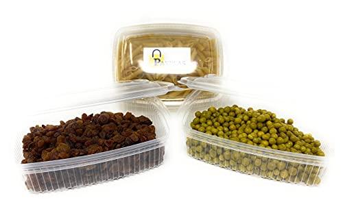 Pack de 50 Envases Desechables para alimentos con tapa Tipo Bisagras 1.000 CC. Tuppers de Plástico Polipropileno Aptos para microondas, Tarrinas de comida para llevar Tipo Fiambrera de Usar y Tirar.