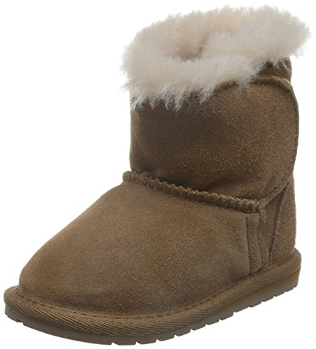 EMU Australia LC Walker Lamb Boot (Infant/Toddler/Little Kid/Big Kid),Natural,12-18 Months M US Infant