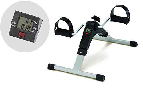 Inditradition Mini Pedal Exercise Cycle / Fitness Bike (With Digital Display of Many Functions, Ready to Use)