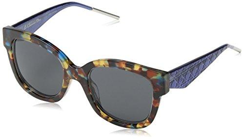 Dior VERYDIOR1N Y1 VV4 Occhiali da Sole, Blu (Bluette Havana/Grey), 51 Donna