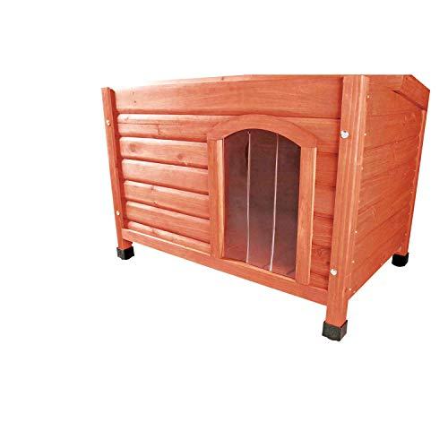 Trixie 39571 natura Kunststofftür für Hundehütte # 39551/39561, 22 × 35 cm