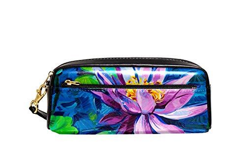 Bennigiry Loto Flower Federmäppchen, große Kapazität, für Kinder, Studenten, Stiftemäppchen, Reise, kleine Kosmetiktasche