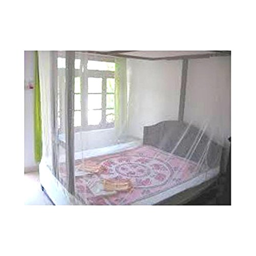 Shahji Creation Double Bed Multi 6X6Feet Best Quality Mosquito Net