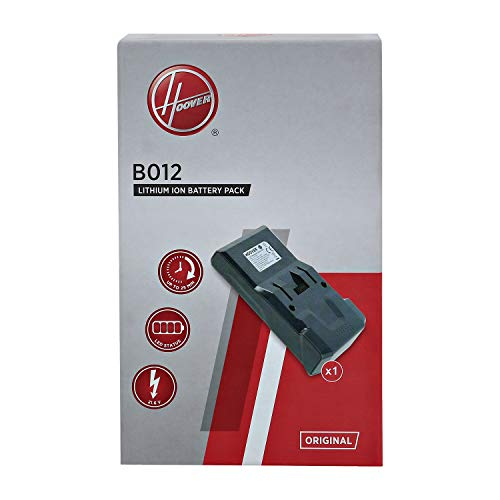 Hoover 35602208 Rechargeable Batteries for Your H-Free 100, Black