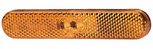 HELLA 2PS 009 226-021 LED-Seitenmarkierungsleuchte mit integriertem Rückstrahler, 12 V, 250 mm Leitung, selbstklebend, horizontal