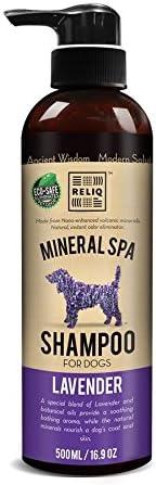 RELIQ Natural Mineral SPA Shampoo Lavender Cheap depot soa Dog for Puppy. No