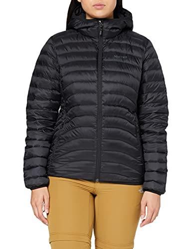 Marmot 78160-001-5 Sweat à Capuche Femme Noir FR : L (Taille Fabricant : L)