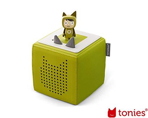 Toniebox Starterset Grün mit Kreativ-Tonie