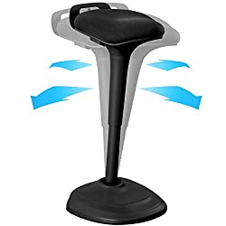 Living Essentials Wobble Stool Chair Standing Desk Chair - Best Standing Desk Chairs and Stools