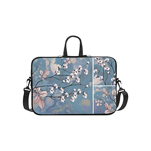 15.6″Lightweight Laptop Notebook Shoulder Backpack Bag Collection Designer Oil Paintings Decoration Interior Waterproof PC Briefcase Messenger with Strap