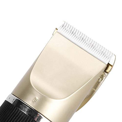 SALALIS Metal + Material plástico, Cortapelos eléctricos para Mascotas, USB Recargable, Accesorio de Aseo para Mascotas