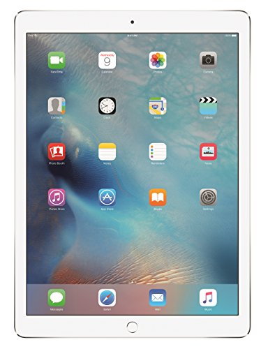Apple iPad Pro (128 GB, Wi-Fi, Silver) - 12.9' Display