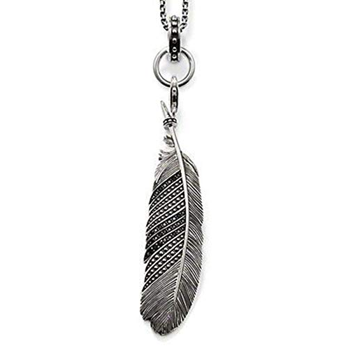 Halskette Feder Anhänger Kette Halsketten Anhänger Die Meisten Mode Bijoux Schmuck Frauen Männer