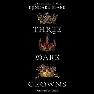 Three Dark Crowns                   Written by:                                                                                                                                 Kendare Blake                               Narrated by:                                                                                                                                 Amy Landon                      Length: 9 hrs and 52 mins     15 ratings     Overall 4.5