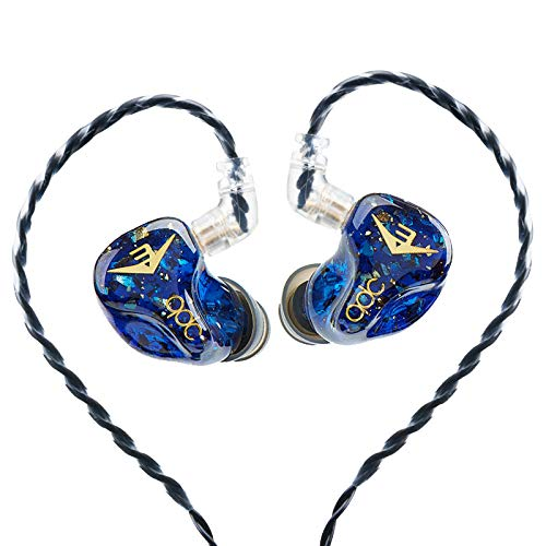 QDC Anole V3 3 Balanced Armature Earbuds HiFi Stage Monitor Earphones Noise Cancellation in-Ear Headphones