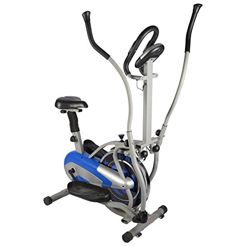 Allyson Fitness 4 in 1 Orbitrek With Seat and Pulse Stand