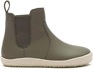 Vivobarefoot Fulham, Kids Leather Chelsea Boot with Barefoot Sole