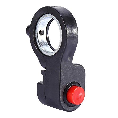 Interruptor de bocina de manillar de motocicleta Keenso de 7/8 pulgadas - Interruptor de apagado de arranque de bicicleta ATV Interruptor de botón de encendido apagado