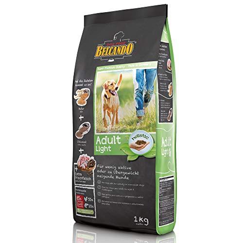 Belcando Adult Light [1 kg] Aliment sec pour chiens en surpoids | Aliment complet pour chiens adultes à partir de 1 an