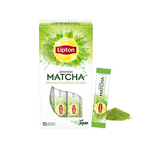 Lipton Japanese Matcha Green Tea, 15 Sticks