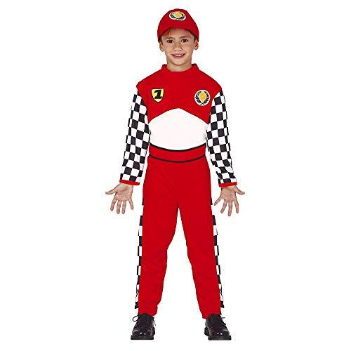 Guirca 83588 Disfraz 10-12 años Piloto Carreras, Niños, Varios