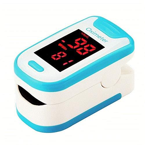 Pulsoximeter, Finger Oximeter Sauerstoffsättigung Meter for Heim Familie Messung Der Puls Und Das Oximeter Auf Dem Finger (pink) (Size : 1)
