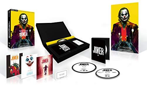 Joker Collector's Edition (4K Ultra HD + Blu Ray), Poster, Art Card e Replica Biglietto, Cofanetto da Collezione (2 Dischi)