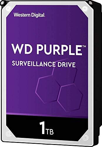 Western Digital WD10PURZ Interne Festplatte 8.9cm (3.5 Zoll) 1TB Purple Bulk SATA III