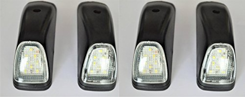 Lot de 4 feux de gabarit LED 24 V pour cabine ACTROS I & II ATEGO I & II AXOR I & II Camions à partir de 2004