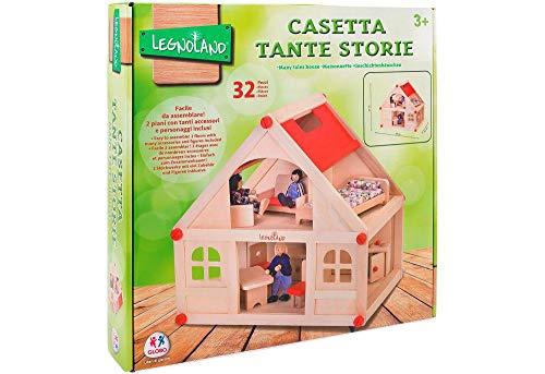Legnoland- Casa delle Bambole Tante Storie, 1
