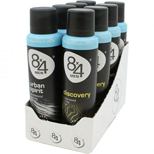 8x4 Deospray Men Mix 150ml, 8er Pack (8x150ml)