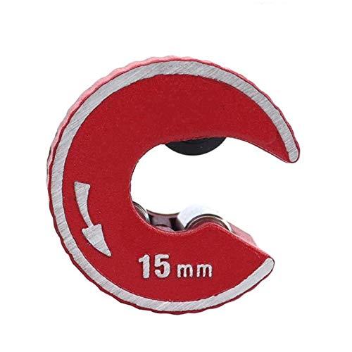 Kupfer-Rohrschneiderwerkzeug, Micro Mini-Rohrschneider, Mini-Runde Rohrschneider Aluminiumlegierungskörper Selbstverriegelung für Kupferrohr-Aluminium-PVC-Kunststoff-Rohr-Schneidwerkzeug 22mm