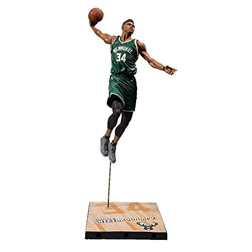 McFarlane Toys NBA 2K19 Milwaukee Bucks Giannis Antetokounmpo, Series 1
