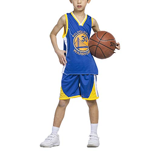 FILWS Basketball Trikot Stephen Curry Kinder Basketball Uniform Set Kinderspiel Training Aussehen Trikot