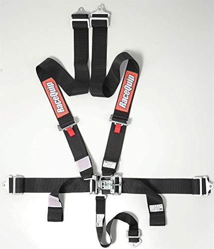 RaceQuip 711001 Racing Harness SFI 16.1 Certified Black