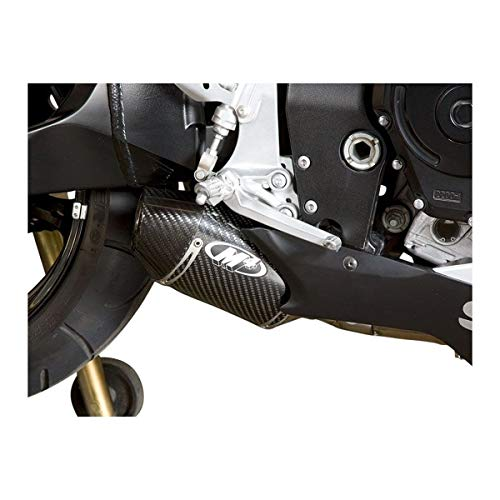 M4 Street Slayer Slip-On Exhaust (Carbon Fiber) for 06-07 Suzuki GSXR600