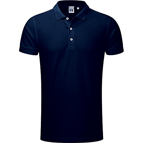 Russell, Unisex, Stretch, Polo-Shirt, Herren Gr. S, french navy