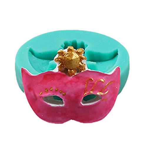FiedFikt, Stampo in Silicone per Torte Fai da Te con Maschera 3D per Fondente, Caramelle, Cioccolato, cubetti di Ghiaccio, Zucchero e Decorazioni per Torte