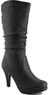 Best high heel boots mid calf Reviews
