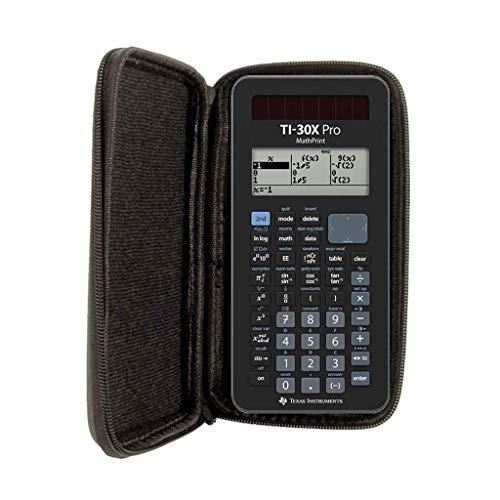 Schutztasche für Taschenrechner und Grafikrechner von Texas Instruments, für Modell: TI 30 X Pro Mathprint