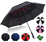 Golf Umbrella by Repel with Triple Layered Reinforced Fiberglass Ribs Adorned in...