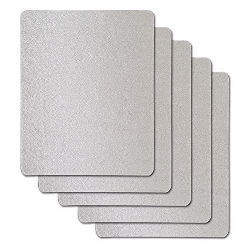 JINGERL 4 unids/Lote 15x12cm Hojas de Placas de Mica para Panasonic LG Galanz Midea, etc. Microondas de microondas Horno de reparación de Horno