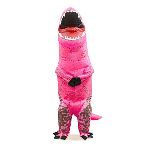 DIKOPRO Disfraz Inflable de Dinosaurio, Adecuado para Disfraces Divertidos de Halloween/Fiesta/Cospaly/Carnaval, Adecuado...