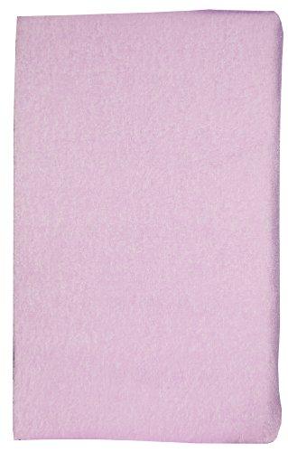 Plan incliné en tissu éponge Rose litchi déhoussable pour lit bébé