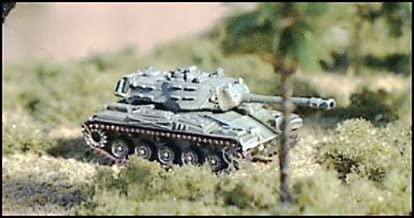 Modern Micro Armour - Vietnam War - Armoured M41 Walker Bulldog